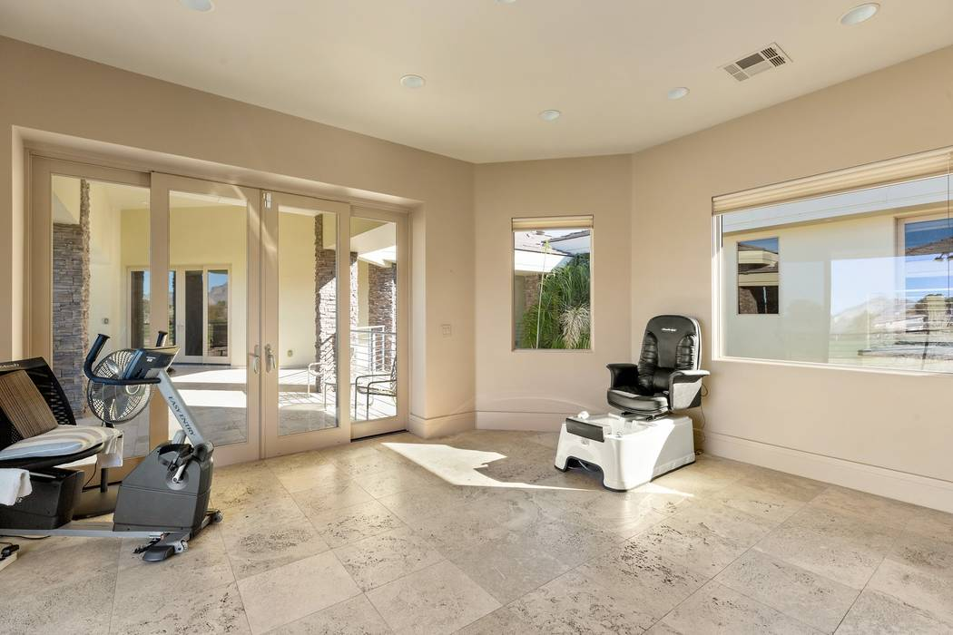 The home has a salon. (Ivan Sher Group)