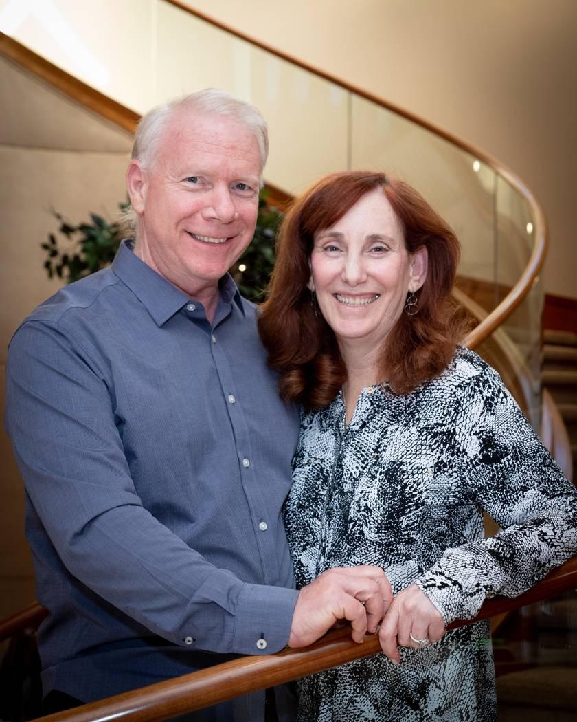 Homeowners Ellen and Martin Gerst. (Tonya Harvey Real Estate Millions)
