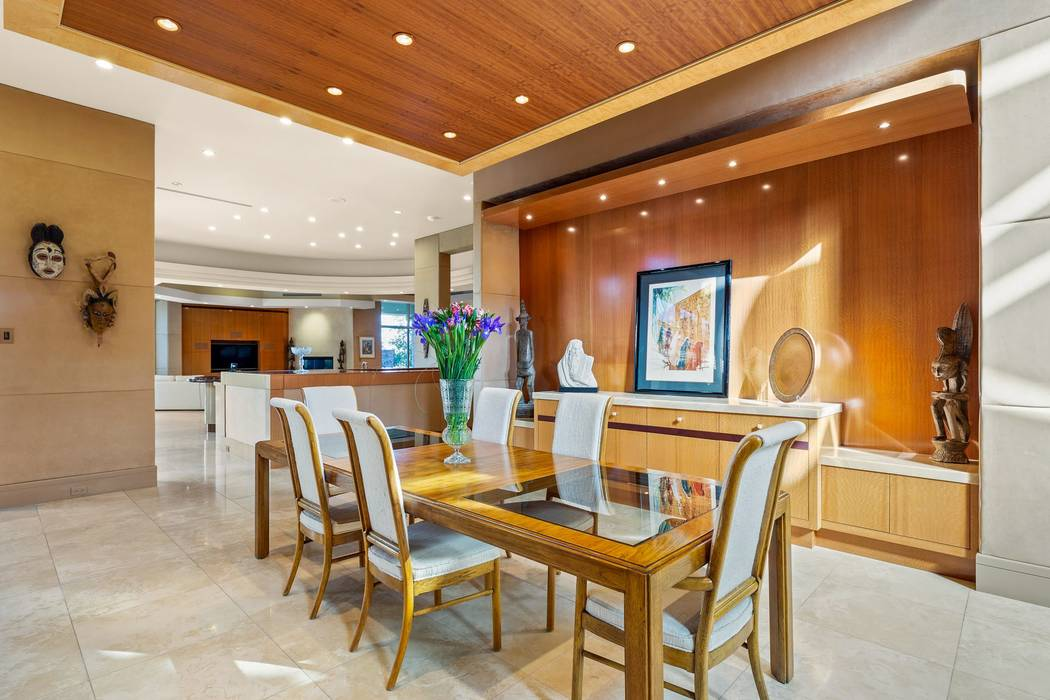 The open, 4,500-square-foot main living area's layout encompasses a formal living room. (Ivan ...