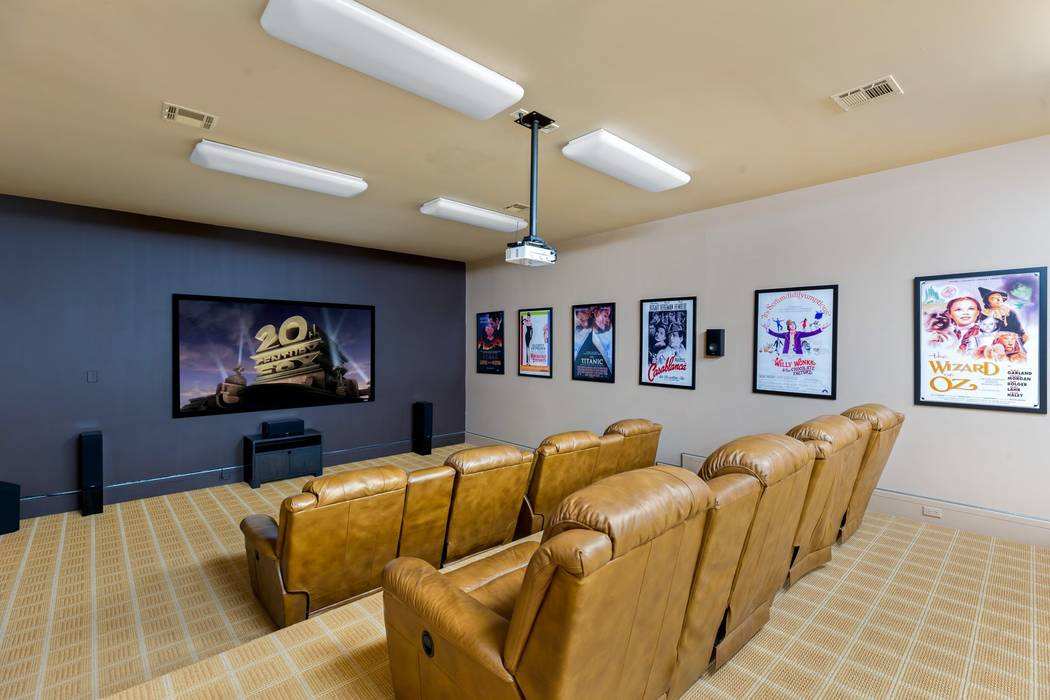 The subterranean level features a movie theater. (Ivan Sher Group)