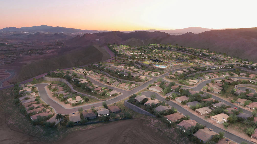 Del Webb at Lake Las Vegas will be the first new Las Vegas Valley age-qualified community in mo ...