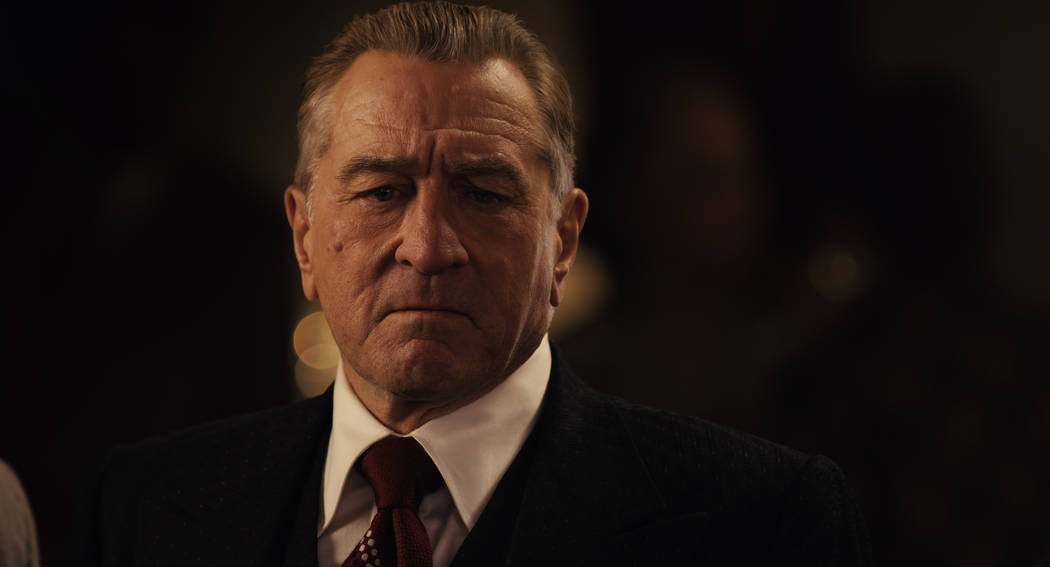 "Robetr De Niro stars in ""The Irishman."" (Netflix)"