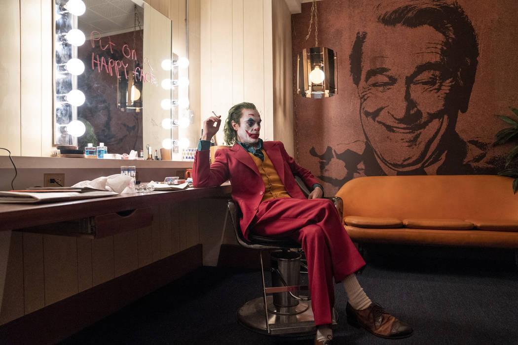 "Joaquin Pheonix as Joker in ""Joker."" (Niko Tavernise)"