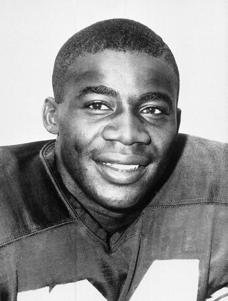 FILE - In this undated file photo shows Willie Wood of the Green Bay Packers. Pro Football Hall ...