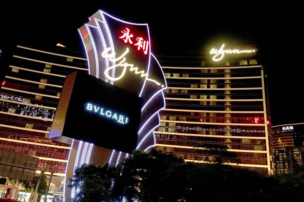 Wynn Macao hotel-casino in Macao, Friday, Jan.12, 2018. Chitose Suzuki Las Vegas Review-Journal