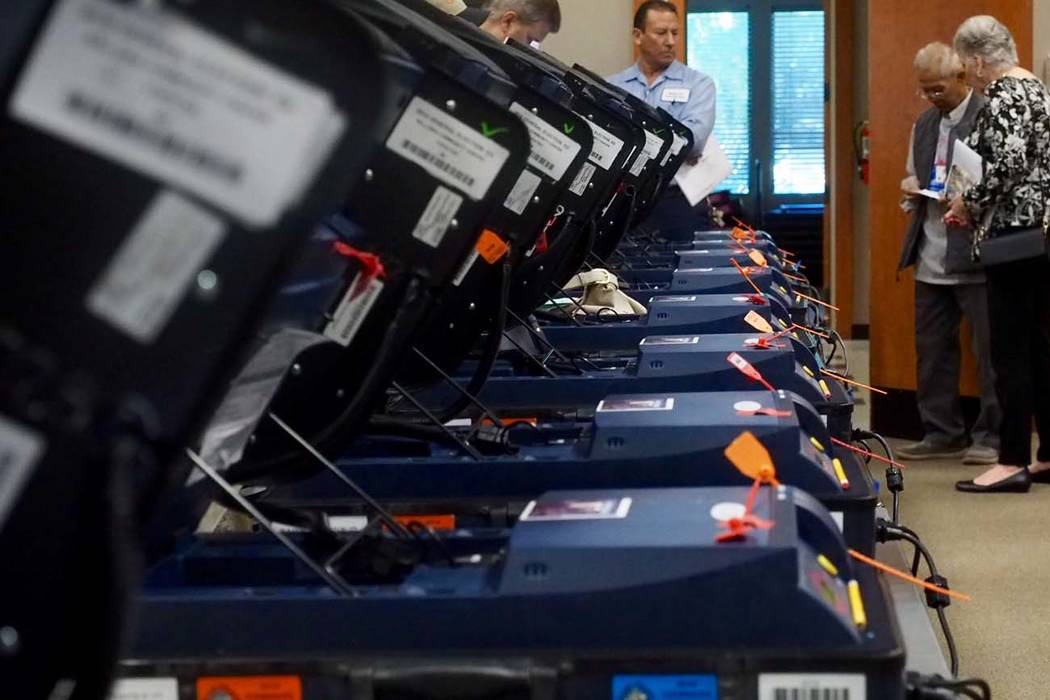 A state senator has submitted an initiative petition for Nevada primary elections to be open to ...
