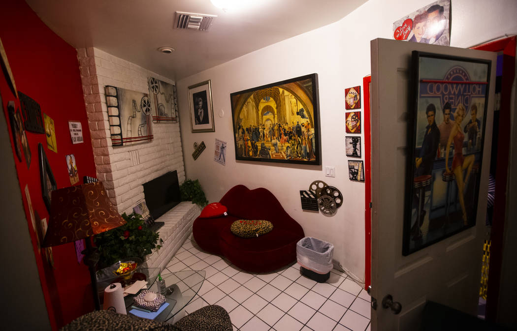 A room at The Studios, a fluid lifestyles learning center, in Las Vegas on Tuesday, Feb. 4, 202 ...