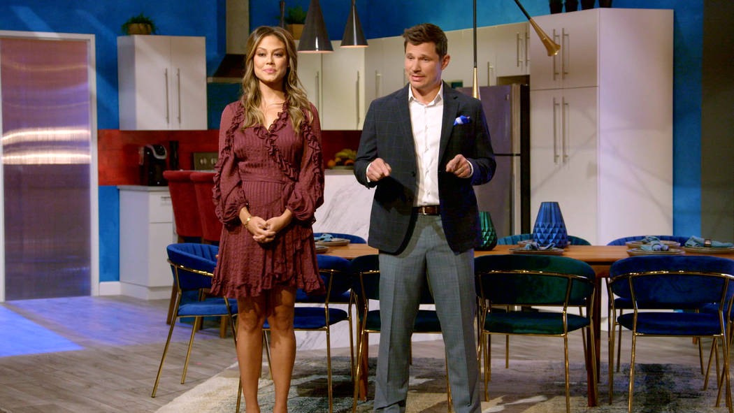 "Vanessa Lachey and Nick Lachey host ""Love Is Blind."" The dating series keeps its singles separa ..."