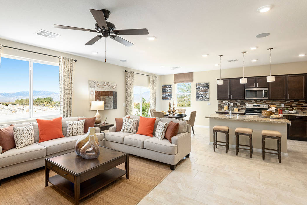 Burson planned communities by Beazer Homes will hold an open house in Pahrump on Feb. 15-16 fro ...