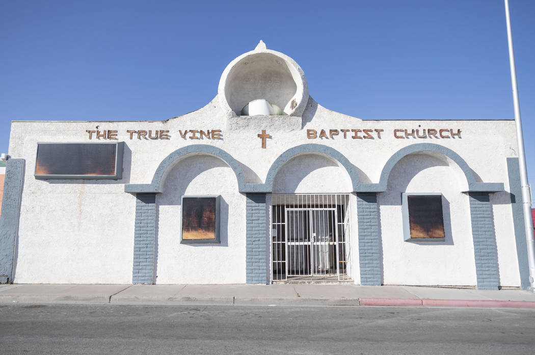 The True Vine Baptist Church, that was previously the Cotton Club, sits on Jackson Street in We ...