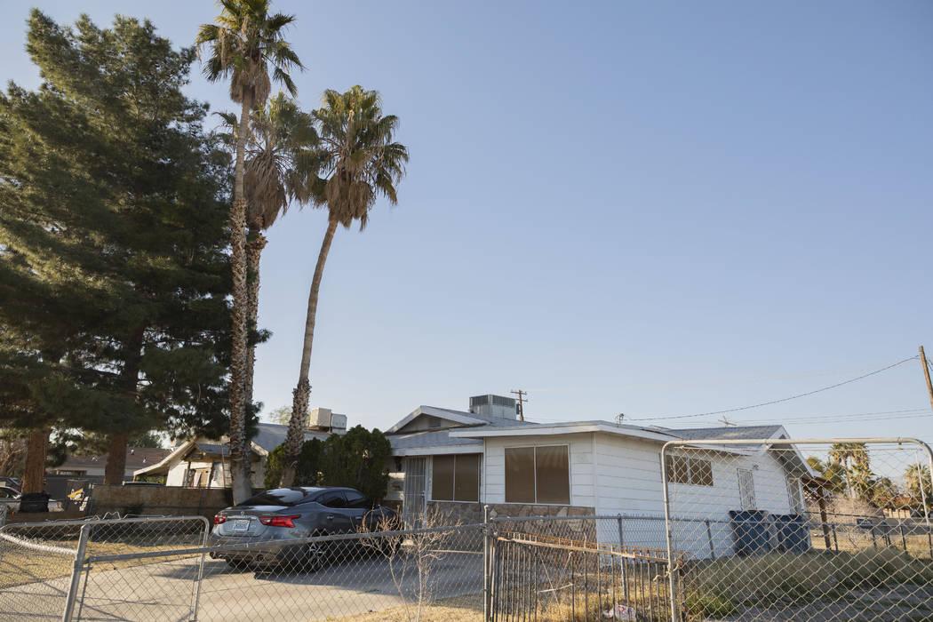 Jackie Brantley grew up in this house, two blocks away from Jackson Street in West Las Vegas. ( ...
