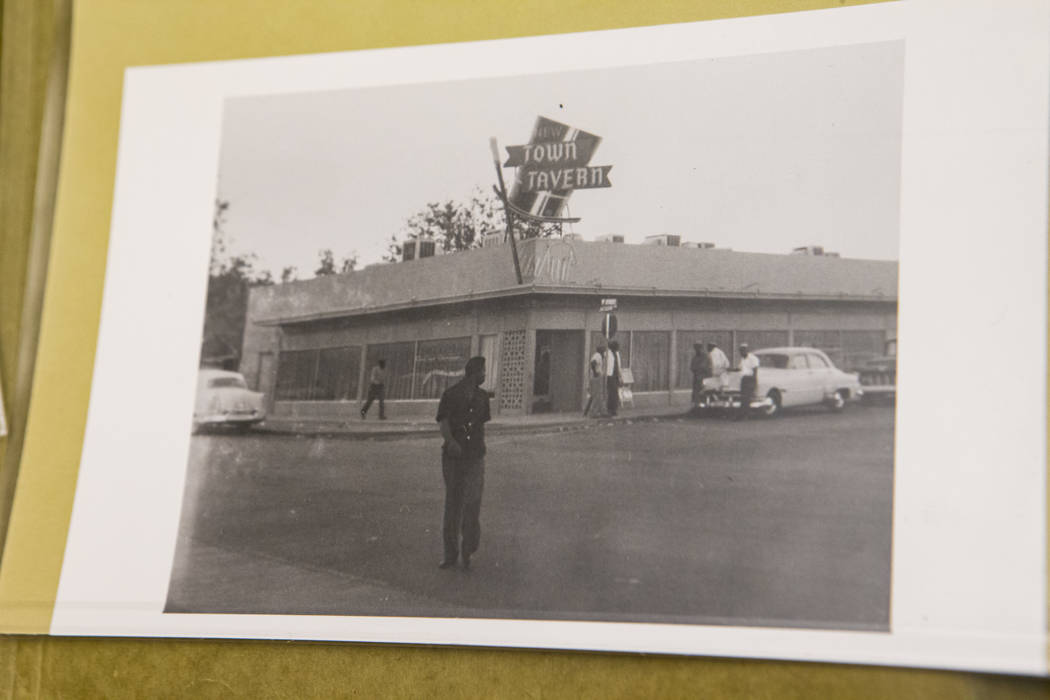 New Town Tavern, F Street and Jackson Avenue, in Las Vegas. (UNLV Special Collections/Lloyd Gil ...