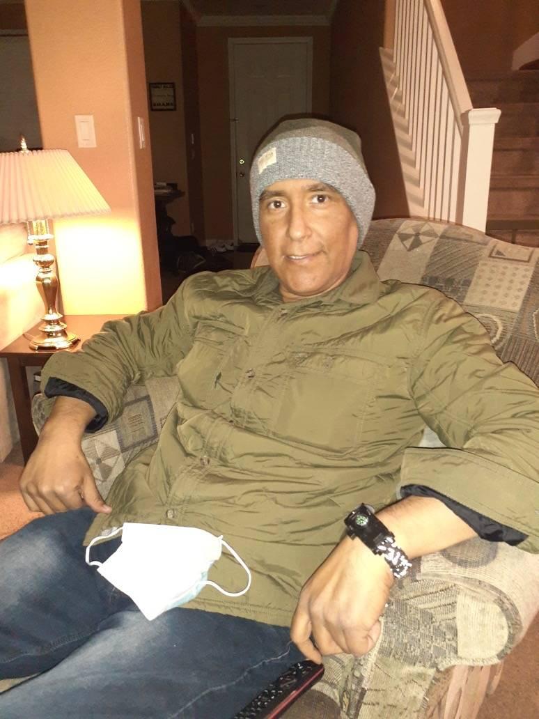 Jose Israel Ramirez Gamez, a math teacher and graduation advocate at Spring Valley High School, ...