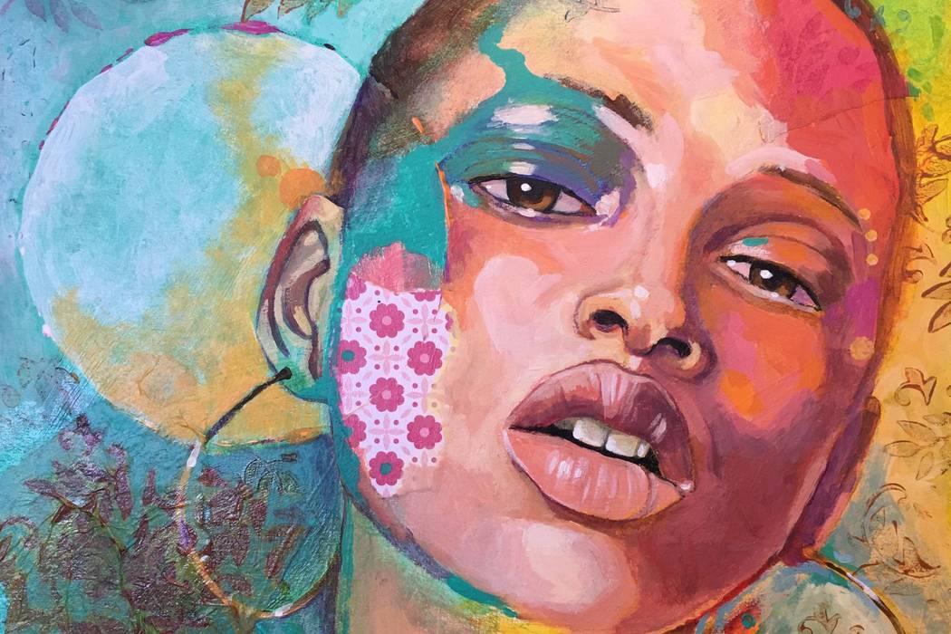 """""""Hannah"""" by Lynne Adamson Adrian"""