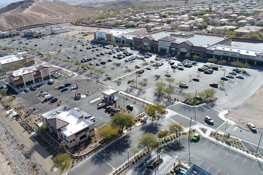 Remington Nevada expects to finish the final phase of Las Vegas retail plaza Mountain's Edge ...