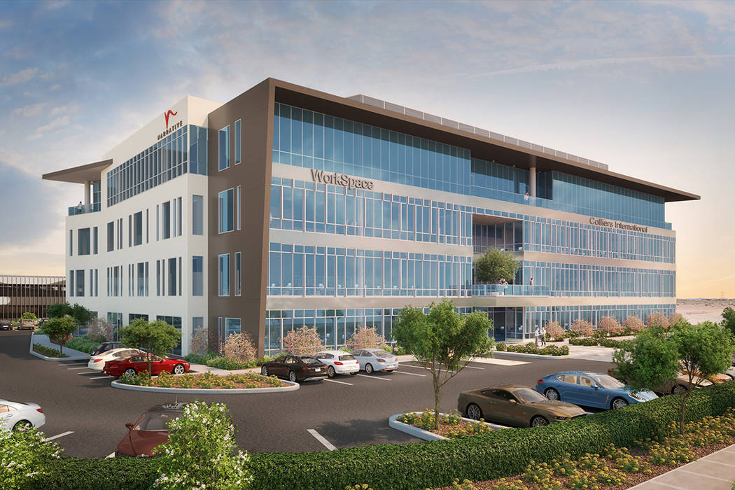 Narrative, a planned four-story office building in the southwest Las Vegas Valley, is expected ...