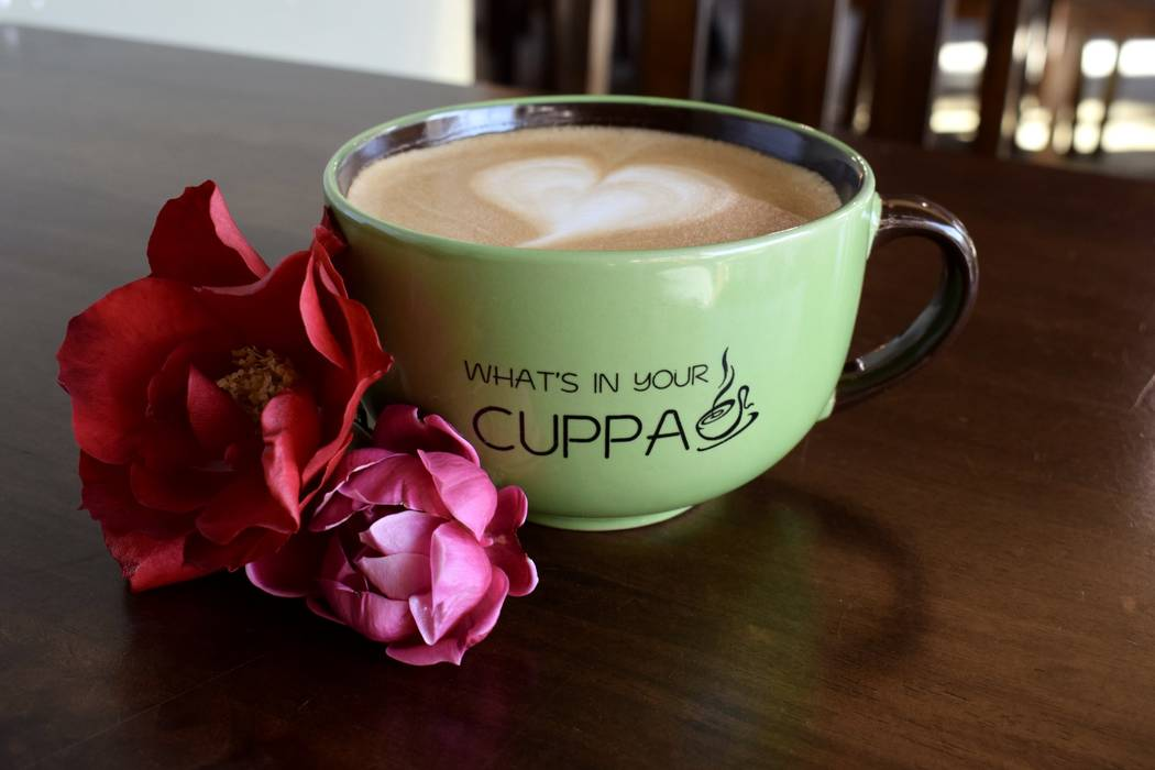 Bouquet Latte at The Cuppa Coffee Bar (The Cuppa Coffee Bar)