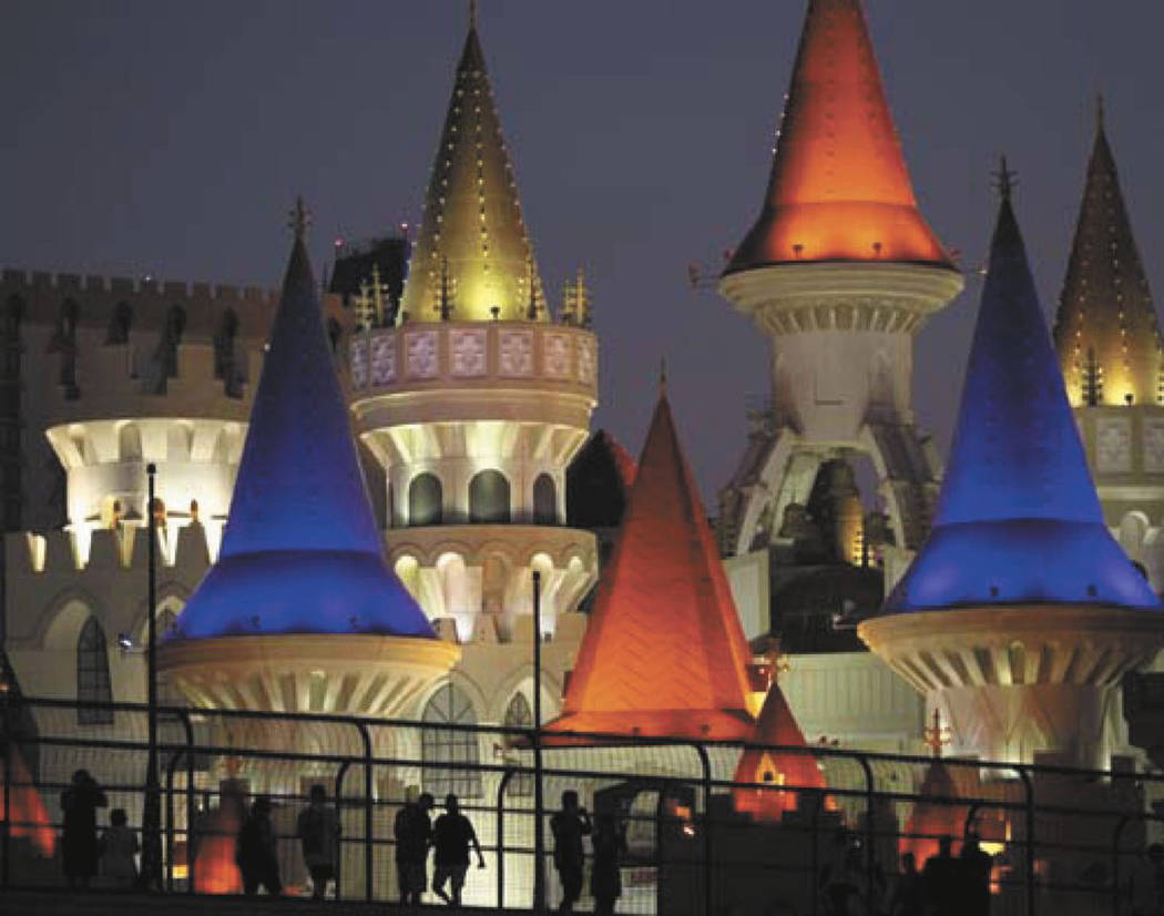 This Sept. 7, 2011, file photo shows Excalibur hotel and casino in Las Vegas. (Las Vegas Review ...