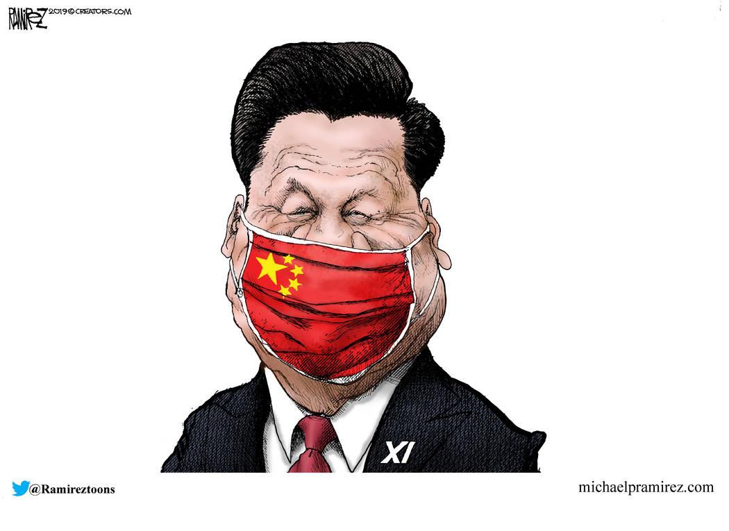 CARTOON: Communist cover-up | Las Vegas Review-Journal