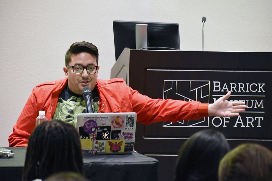 Las Vegas artist Justin Favela is a 2020 UNLV Dean's Medal recipient in the UNLV College of Fin ...