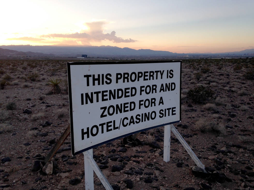 Station Casinos owns 45 acres at Via Inspirada and Bicentennial Parkway in Henderson's Inspirad ...