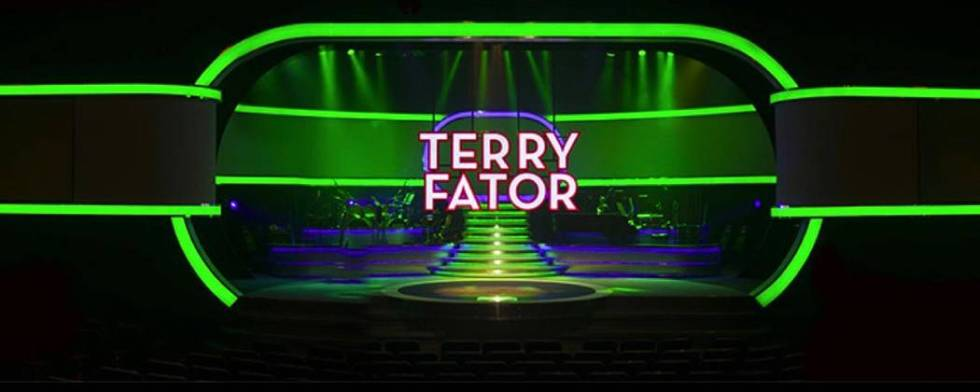 The Andy Walmsley-designed set for Terry Fator is shown at the Mirage. (Andy Walmsley Entertain ...