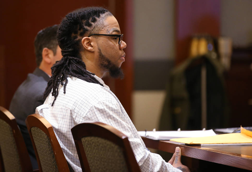 Ray Charles Brown listens to testimony during the penalty phase of his capital trial at the Reg ...
