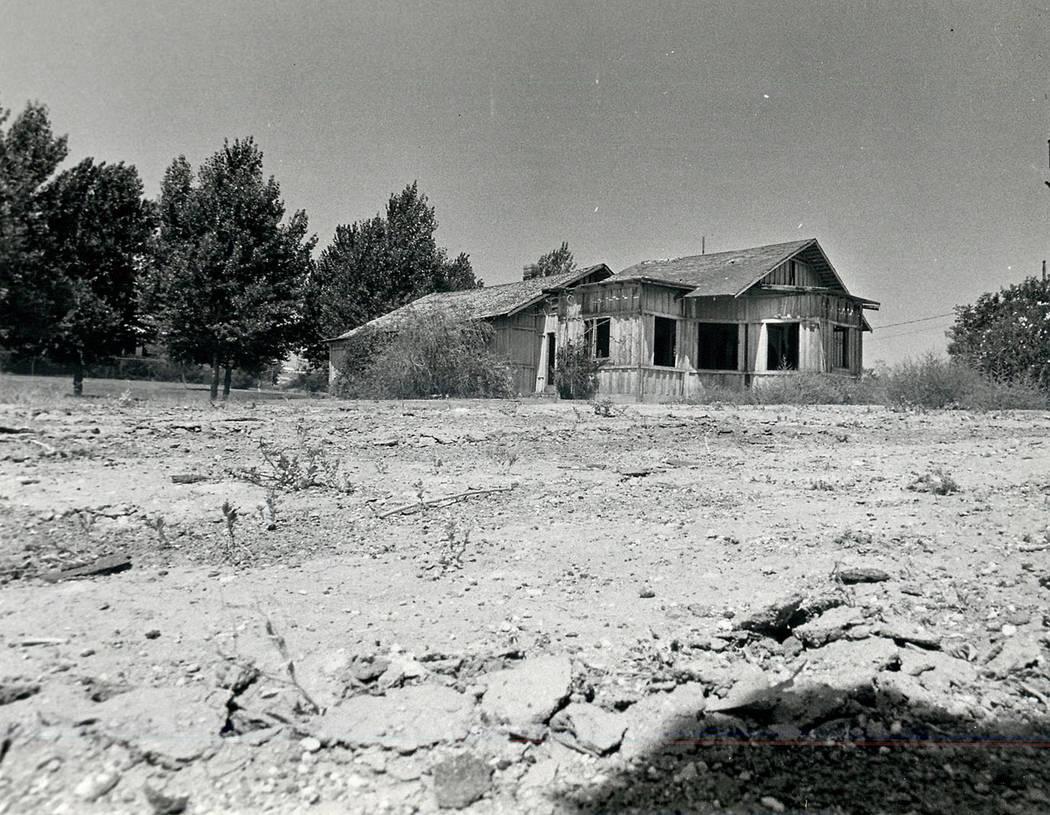 Part of Kiel Ranch is seen in July 1983. (Las Vegas Review-Journal file)