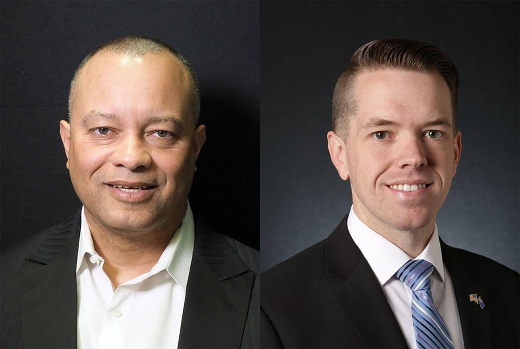 Steve Sanson, left, and David Schoen (Las Vegas Review-Journal)