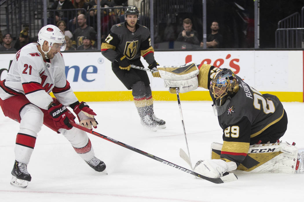 Golden Knights blow lead in shootout loss to...