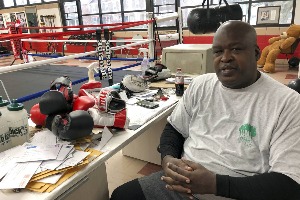 """In this Jan. 31, 2020 photo, James """"Buster"""" Douglas, the former world heavyweight cha ..."""