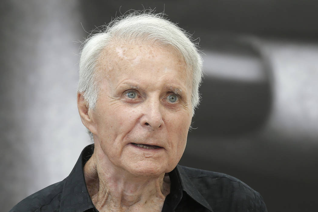 """Actor Robert Conrad of TV series """"The Wild Wild West"""" poses for photographers during the 2013 M ..."""