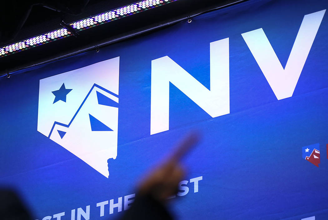 Nevada will hold its caucuses on Saturday, Feb. 22, 2020. (Chase Stevens/Las Vegas Review-Journal)
