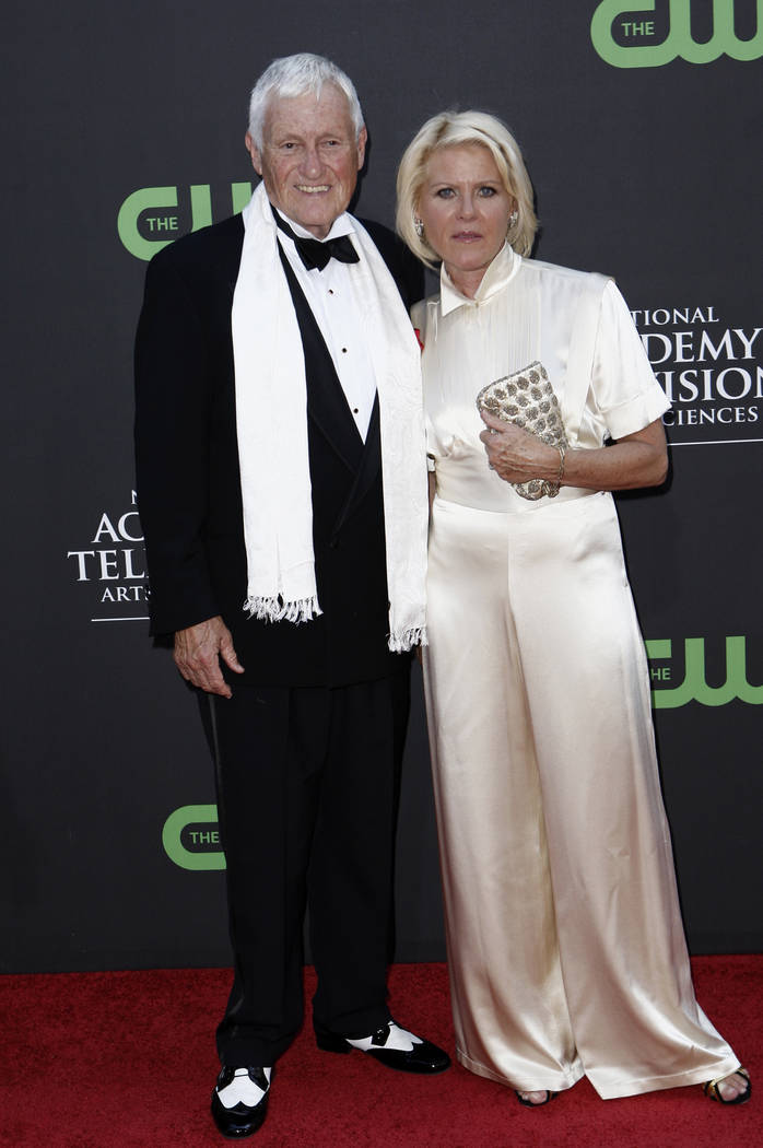 Actor and comedian Orson Bean and Alley Mills arrive at the Daytime Emmy Awards in Los Angeles ...