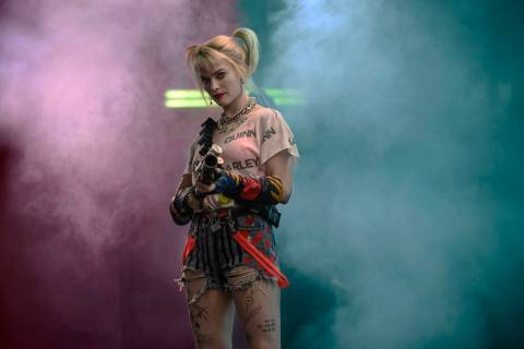 "Margot Robbie as Harley Quinn in ""Birds of Prey."" (Warner Bros.)"