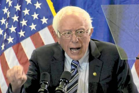Bernie Sanders (Las Vegas Review-Journal)