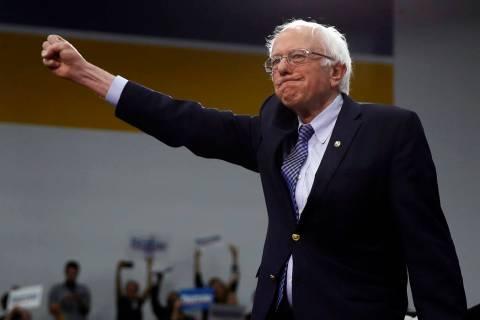 Democratic presidential candidate Sen. Bernie Sanders, I-Vt. (AP Photo/Matt Rourke)