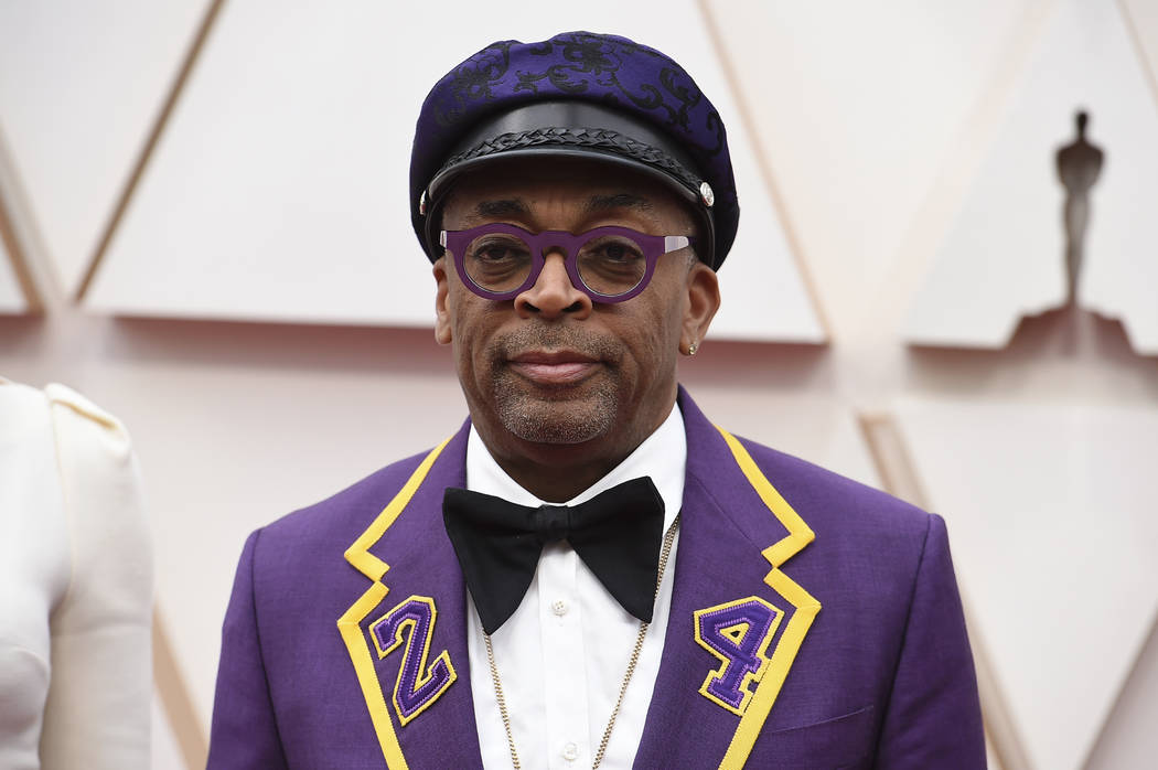 Spike Lee arrives at the Oscars on Sunday, Feb. 9, 2020, at the Dolby Theatre in Los Angeles. ( ...