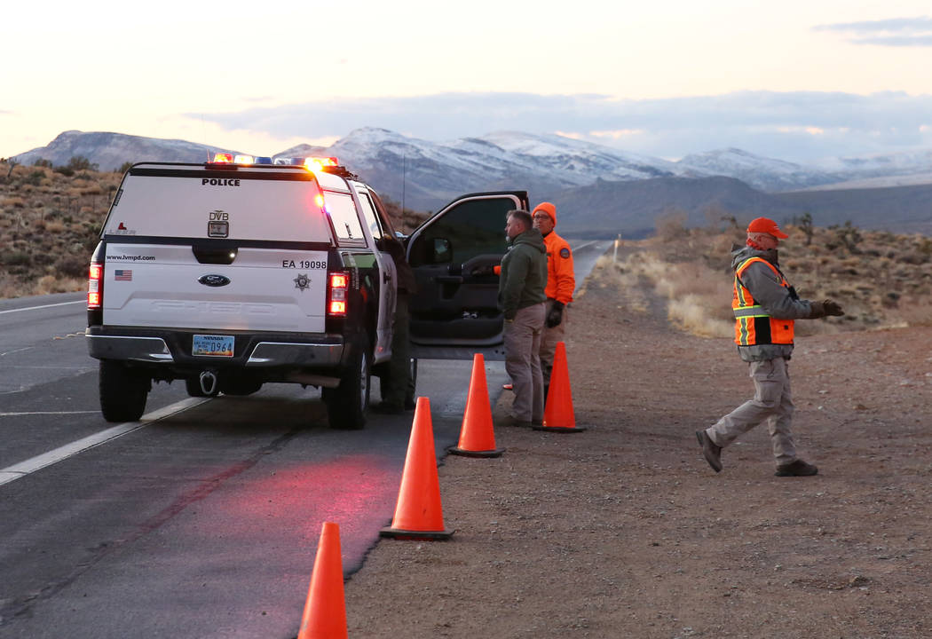 Search and rescue teams are looking for missing hiker at Red Rock Canyon National Conservation ...