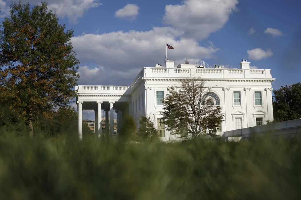 FILE - This Tuesday, Sept. 24, 2019, file photo shows the White House in Washington. (AP Photo ...