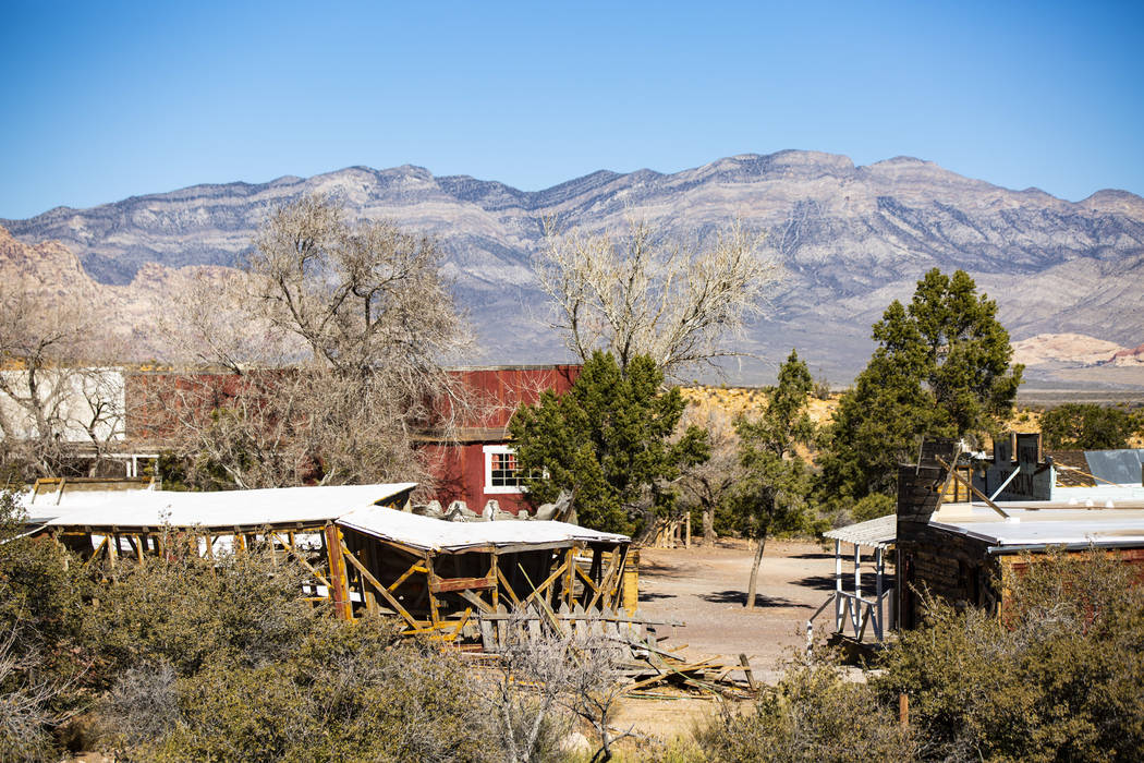 Views of the old town area at the former Bonnie Springs Ranch outside of Las Vegas on Friday, F ...
