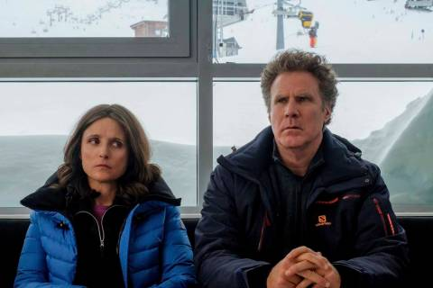 This image released by Fox Searchlight shows Julia Louis-Dreyfus, left, and Will Ferrell in a s ...
