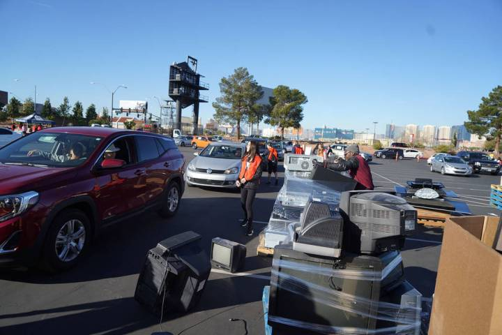 The invasion of Thomas & Mack's parking lot started filling up quickly early on Feb. 1. By mi ...
