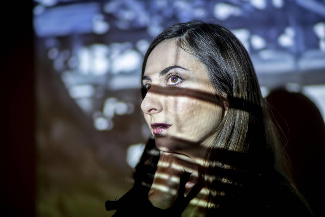 Tsvetelina Stefanova, the new executive director of the Dam Short Film Festival, poses for a po ...