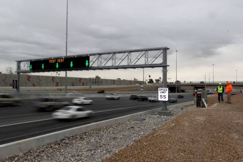 U.S. 95 southbound will shut to traffic between 10 p.m. Monday, Feb. 10, 2020, and 5 a.m. Tuesd ...