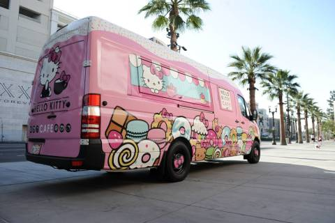 The Hello Kitty Cafe Truck is returning to Las Vegas. (Hello Kitty Cafe Truck)