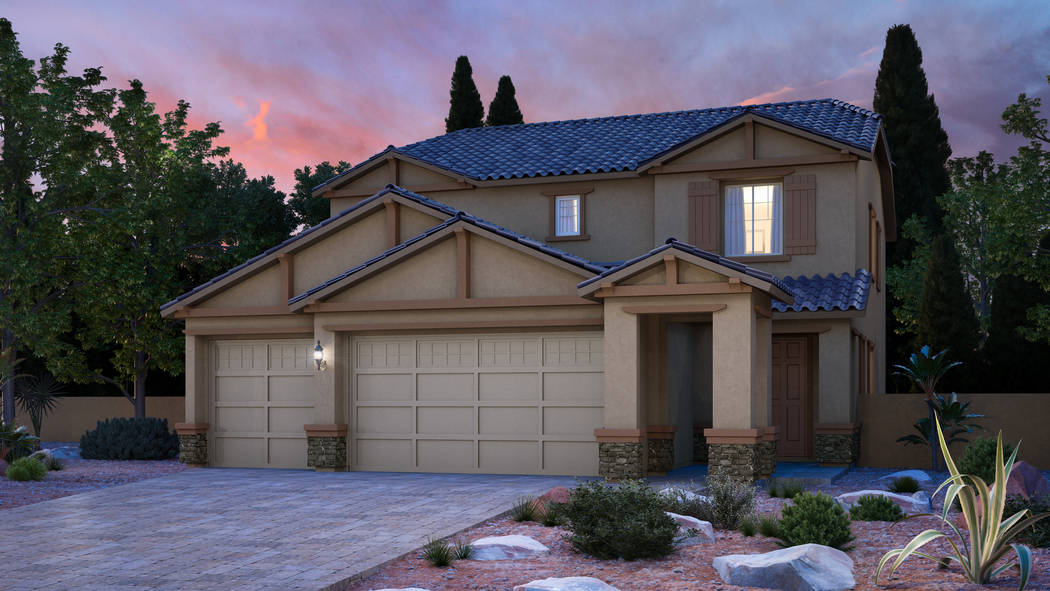 Hawthorne by Lennar in Skye Canyon offers single- and two-story floor plans that range from 2,0 ...