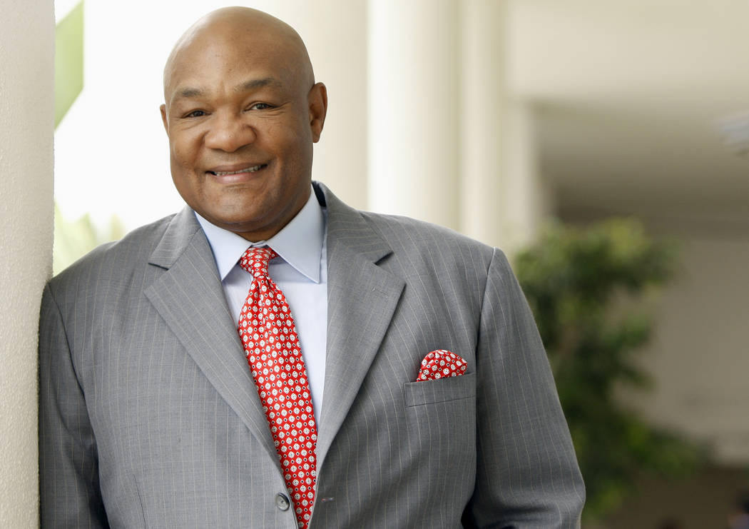 Former heavyweight champion George Foreman Sr. poses for a portrait during the Television Criti ...