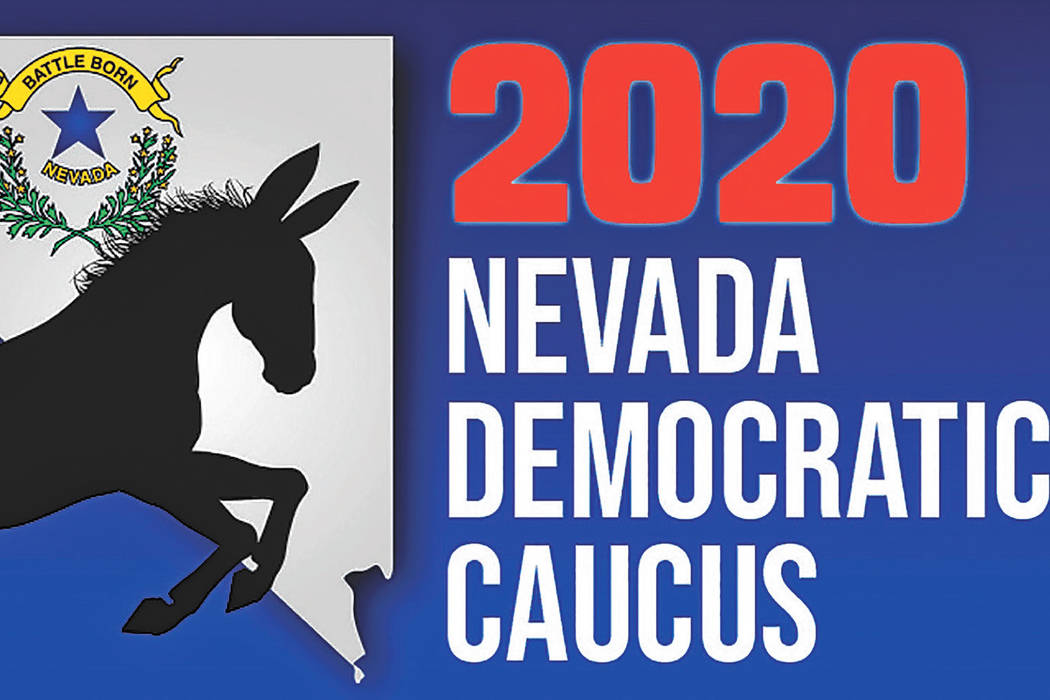 The 2020 Nevada Democratic Caucus is Feb. 22. (Heather Ruth/Pahrump Valley Times)