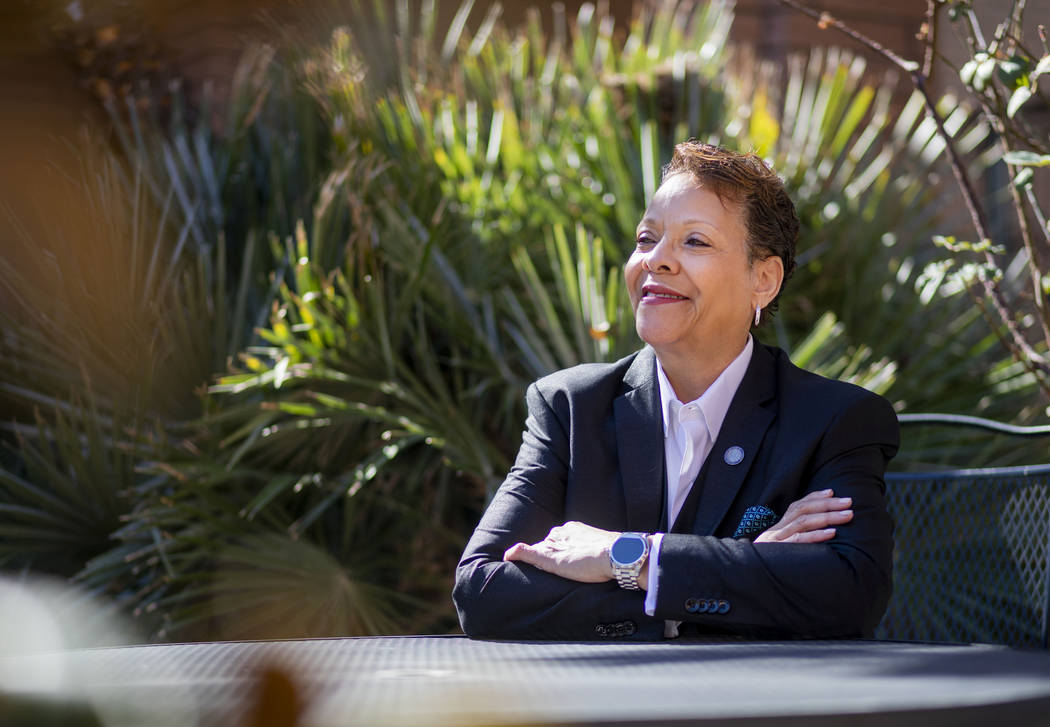 Nevada state Sen. Pat Spearman, D-North Las Vegas, is a gay African American woman who served i ...
